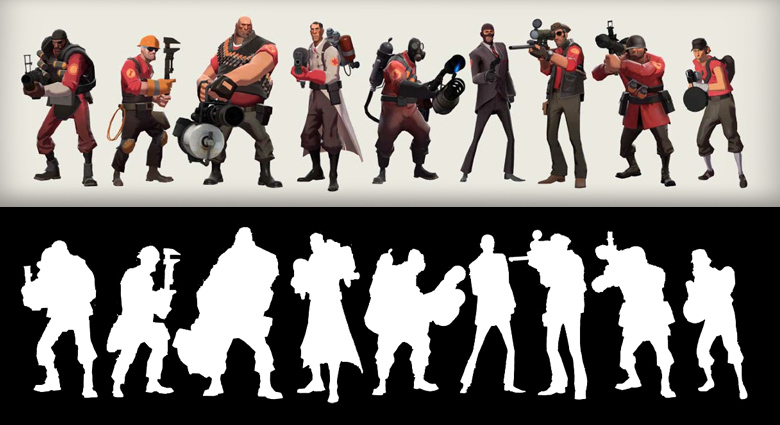 TF2 Silhouettes